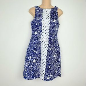 Lilly Pulitzer Target Blue Fish Shift Dress